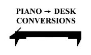 Pianos Converted to Desks